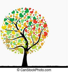 nitro, strom, abstraktní
