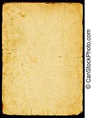 noviny, dávný, textured