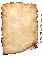 noviny, pergamen, grafické pozadí