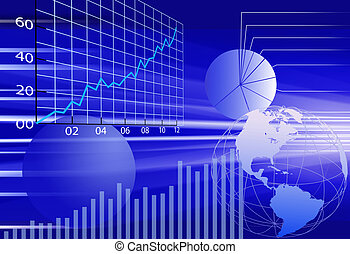 Obchodní finanční údaje o obchodním světě
