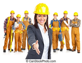 Obchodníci pracujících
