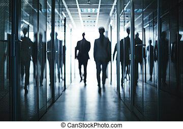 Obchodníci v chodbách
