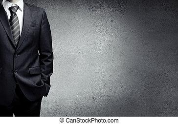 Obchodník v obleku
