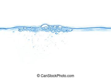 oplzlý zředit vodou, abstraktní, bublat, grafické pozadí