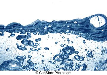 oplzlý zředit vodou, bublat