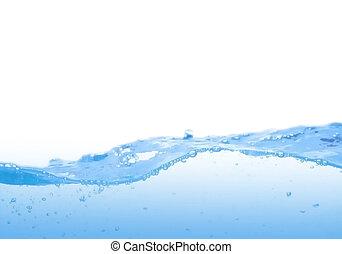 oplzlý zředit vodou, mávnutí