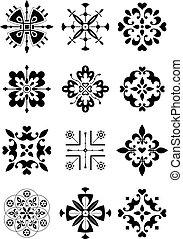 Ornament, dekorace, vzor