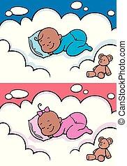Ospalé děťátko