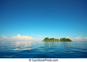 Ostrov na moři