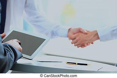 otřes, povolání, hands., národ