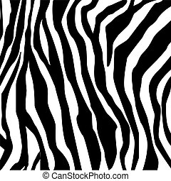Otisk zebra