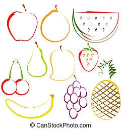 Ovoce ve frontě