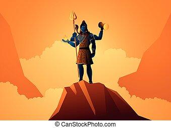 Pán se chvěje na hoře
