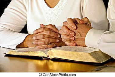 Pár modliteb k bibli