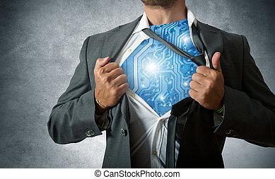 přebytečná věc hrdinové, technika