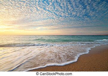 překrásný, seascape.