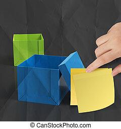 Přemýšlím o tom, že jsi v krabici na papírech