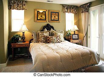 přepych, ložnice