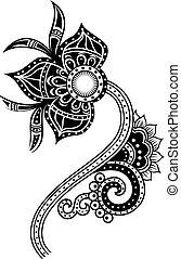 Paisleyová ilustrace