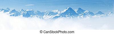 Panorama horské krajiny