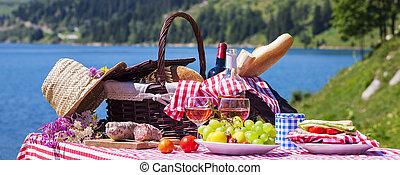 panoramatický, piknik