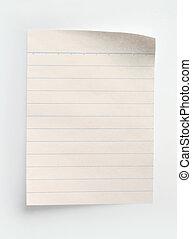 Papírový papír
