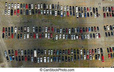 Parkoviště na parkovišti