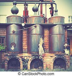pivovar, dávný
