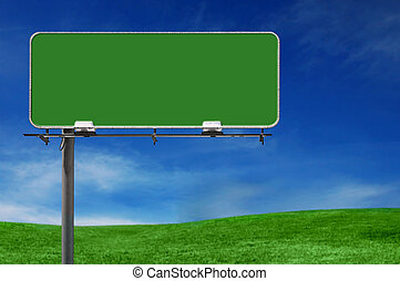 plakátovací tabule, dálnice, ve volné přírodě, inzerce poznamenat
