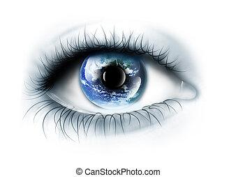 Planet je v oku