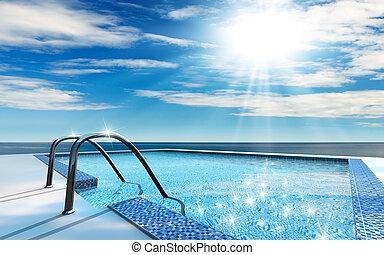 Plavoucí bazén