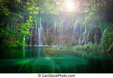 Plichotivé vodopády