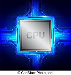 počítačová technika, procesor