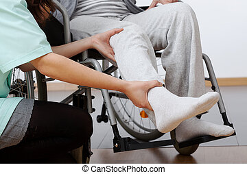 Poškozená rehabilitace
