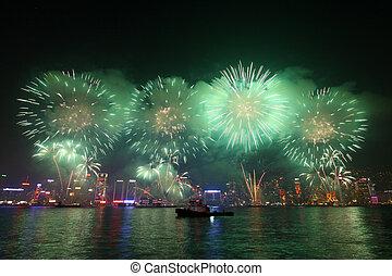 Požár v Hong Kongu v čínském roce 2011