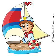 podoba, 3, námět, námořník