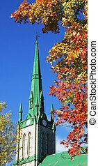 podzim, církev