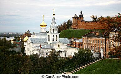 podzim, prorok, elijah, kreml, církev