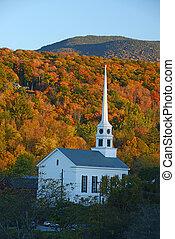podzim, stowe, církev