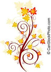 podzim, točit se