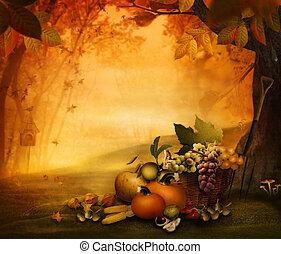 Podzimový design - ovoce