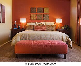 Pohodlná ložnice
