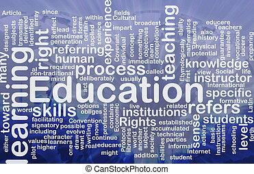 pojem, školství, grafické pozadí