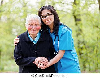 Pomáhám starým lidem