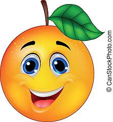 Pomerančová postavička
