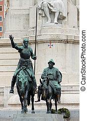 Pomník Cervantes
