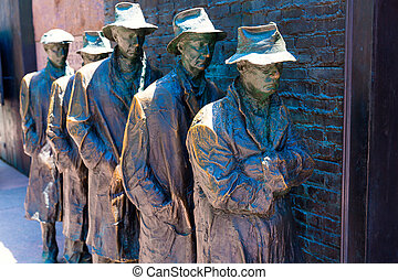 pomník, washington, franklin roosevelt, delano