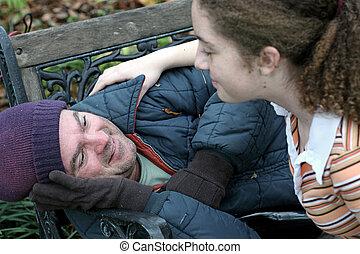 Pomoz bezdomovcům