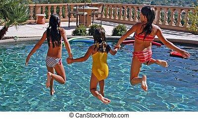 Poolová zábava