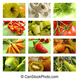 Potravinové jádro zdravého jídla